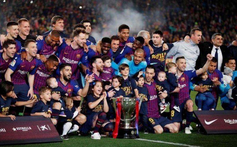 Barca vô địch La Liga
