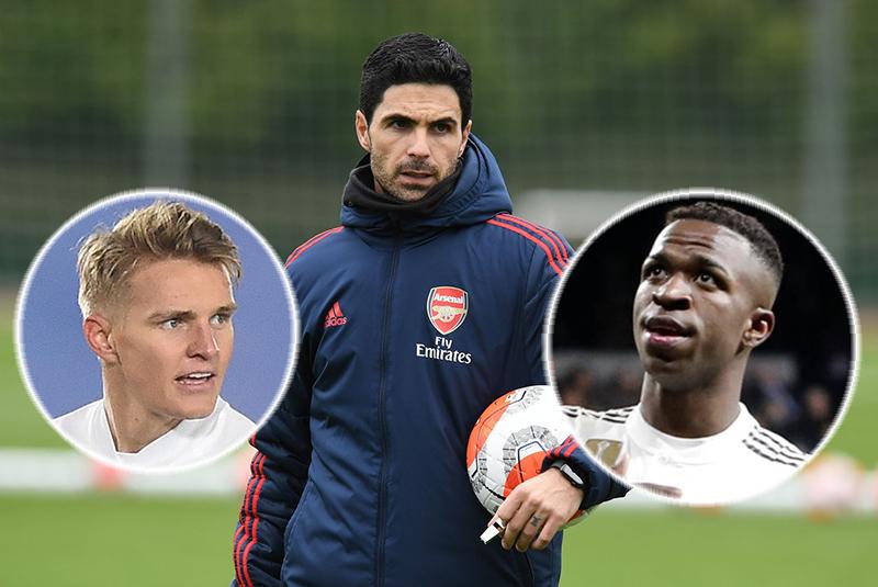 Chuyển nhượng Arsenal: sắp xong Odegaard, chuẩn bị hỏi mượn Vinicius