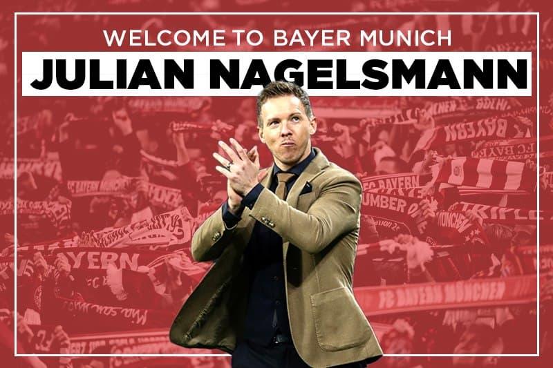 Julian Nagelsmann CHÍNH THỨC cập bến Bayern Munich