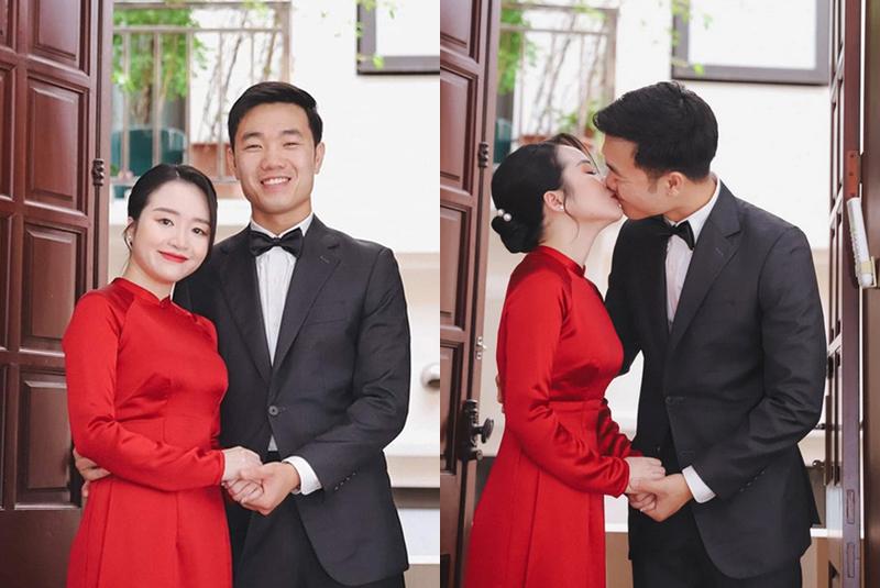 Khoảnh khắc mặn nồng của Xuân Trường và vợ sắp cưới khiến các fan không khỏi xuýt xoa