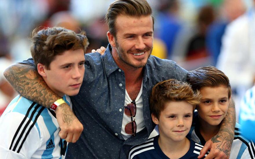 3 cậu con trai Beckham được biết đến rộng rãi nhờ danh tiếng lẫy lừng của ông bố lịch lãm
