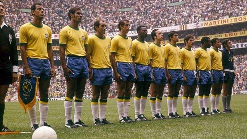 Đội hình mạnh nhất thế giới của Brazil năm 1970